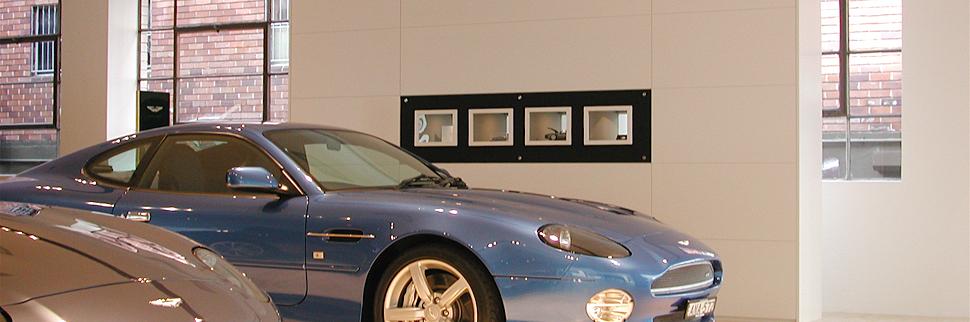 Trivett Aston Martin Rolls Royce